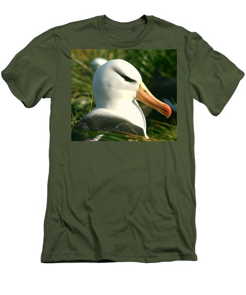 Men's T-Shirt (Slim Fit) featuring the photograph In Waiting by Amanda Stadther