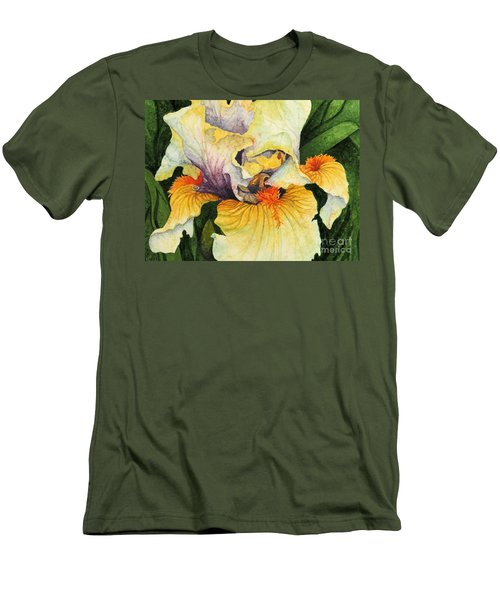 Men's T-Shirt (Slim Fit) featuring the painting Inner Beauty by Barbara Jewell