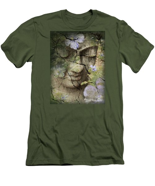 Inner Tranquility Men's T-Shirt (Slim Fit) by Christopher Beikmann