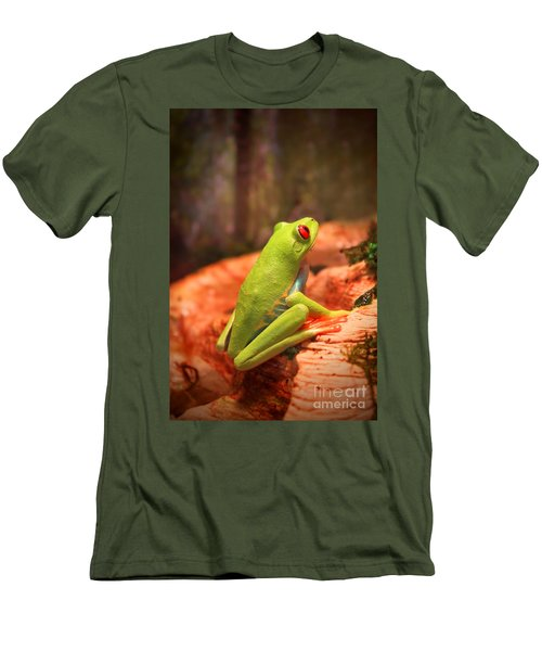 Inspirations For Tomorrow Men's T-Shirt (Slim Fit) by Cathy  Beharriell