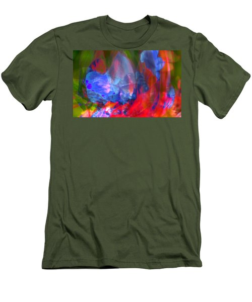 Men's T-Shirt (Slim Fit) featuring the digital art Interior by Richard Thomas