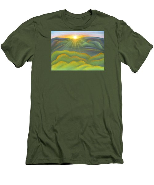 Isla Gorge Sunset Men's T-Shirt (Athletic Fit)