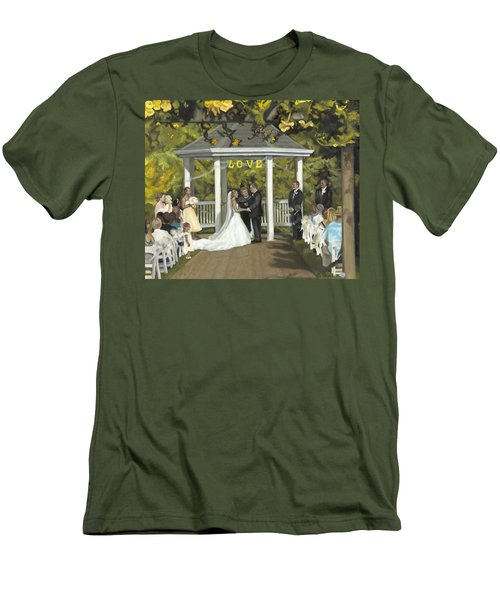 Issaquah Wedding  Men's T-Shirt (Athletic Fit)