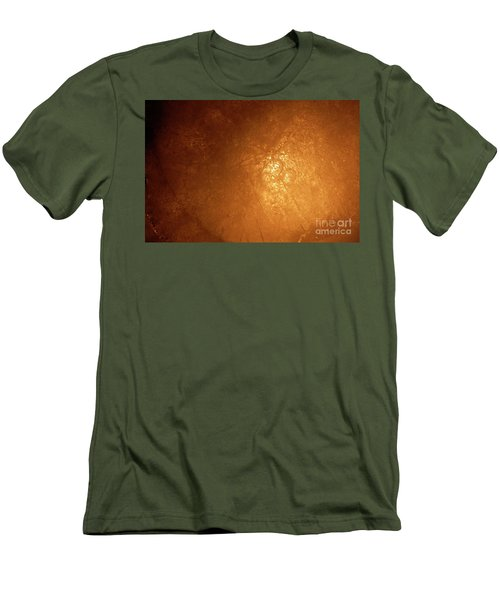 Men's T-Shirt (Slim Fit) featuring the photograph Jammer Abstract 007 by First Star Art
