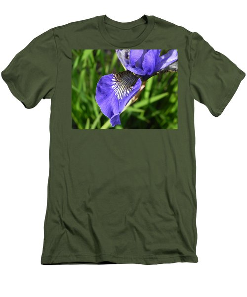 Elegance Men's T-Shirt (Slim Fit) by Cheryl Hoyle