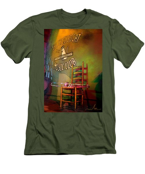 Jazz Break In New Orleans Men's T-Shirt (Athletic Fit)