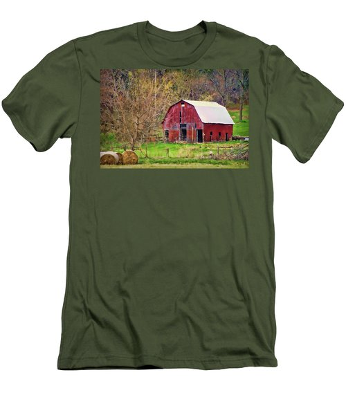 Jemerson Creek Barn Men's T-Shirt (Athletic Fit)
