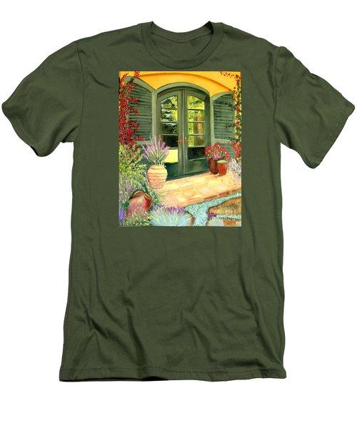 Jill's Patio Men's T-Shirt (Athletic Fit)