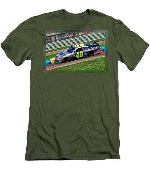 Jimmie Johnson Men's T-Shirt (Athletic Fit)
