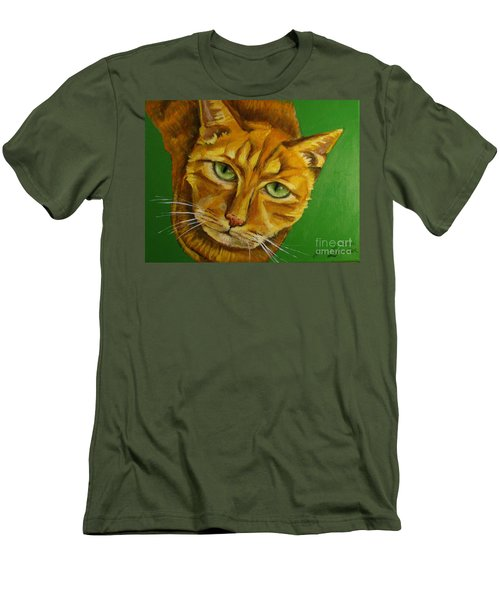 Jing Jing - Cat Men's T-Shirt (Athletic Fit)