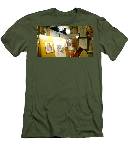 John D Benson Men's T-Shirt (Athletic Fit)