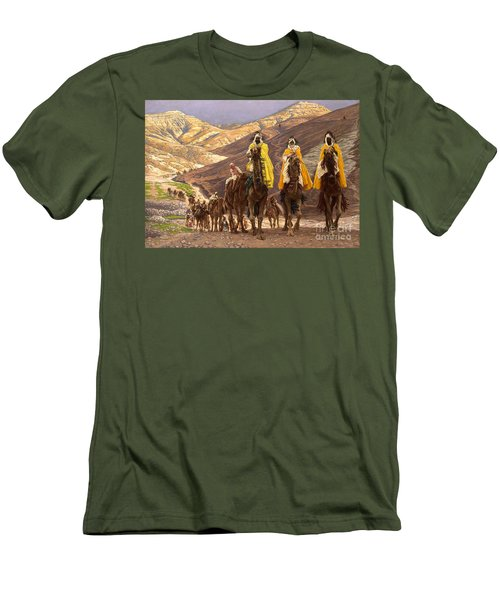 Journey Of The Magi Men's T-Shirt (Athletic Fit)