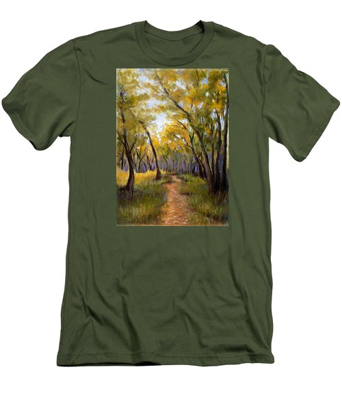 Just Before Autumn Men's T-Shirt (Athletic Fit)