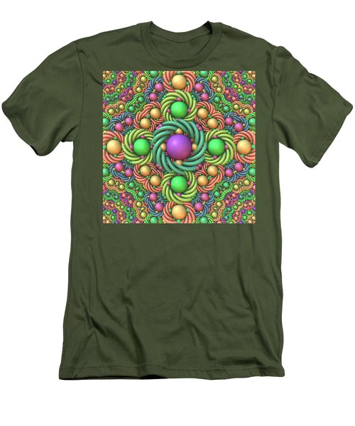 Just In Time For Easter Men's T-Shirt (Slim Fit) by Lyle Hatch