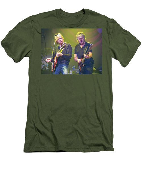 Justin Hayward And John Lodge Men's T-Shirt (Athletic Fit)