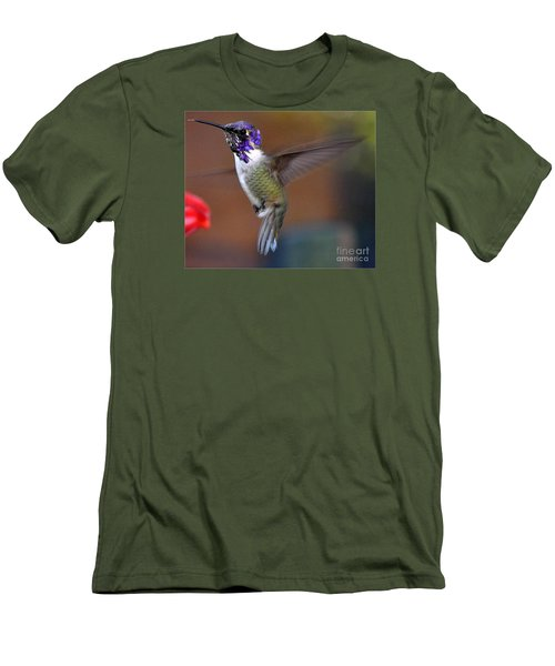 Men's T-Shirt (Slim Fit) featuring the photograph Juvenile Male Costa by Jay Milo