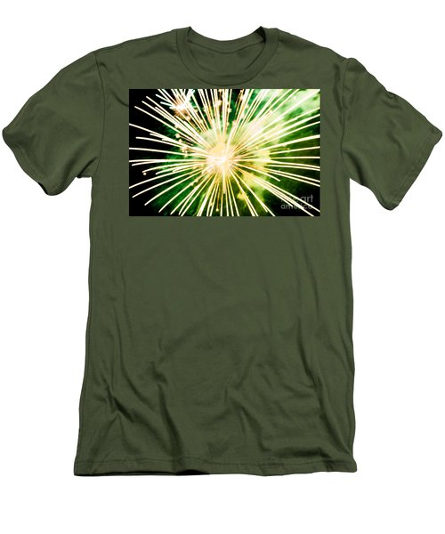 Men's T-Shirt (Slim Fit) featuring the photograph Kaboom by Suzanne Luft