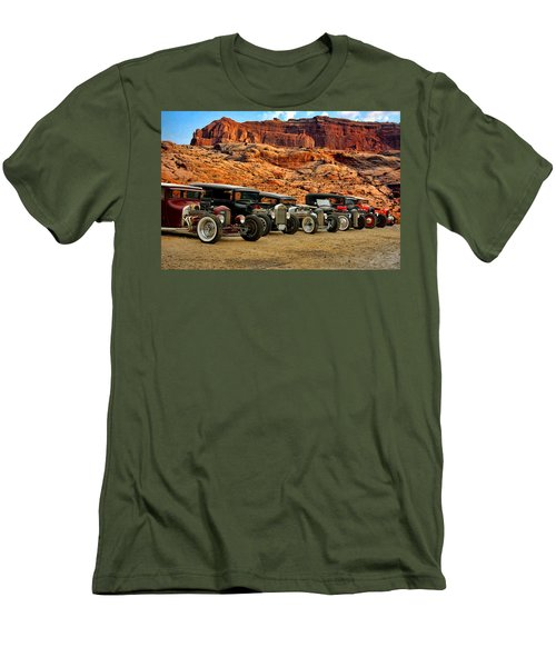 Kansas City Rat Rods And Hot Rods Men's T-Shirt (Athletic Fit)