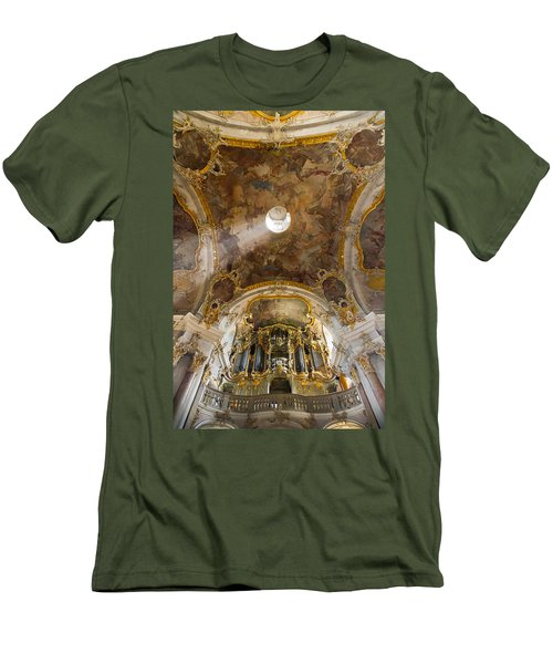 Kappele Wurzburg Organ And Ceiling Men's T-Shirt (Athletic Fit)