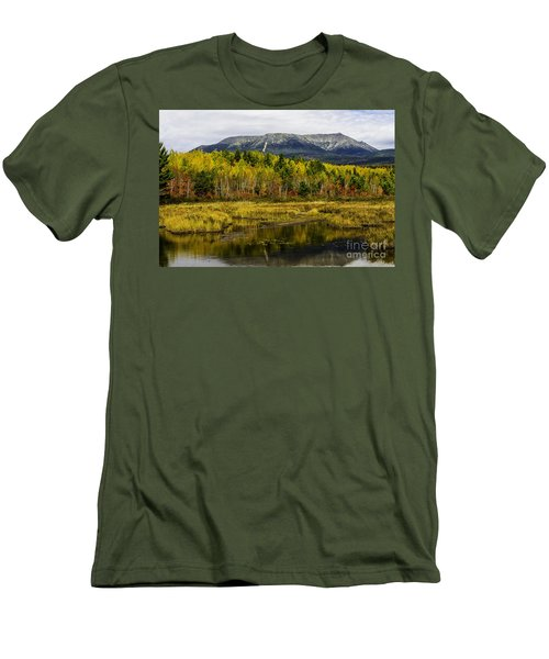 Katahdin Baxter State Park Maine Men's T-Shirt (Athletic Fit)