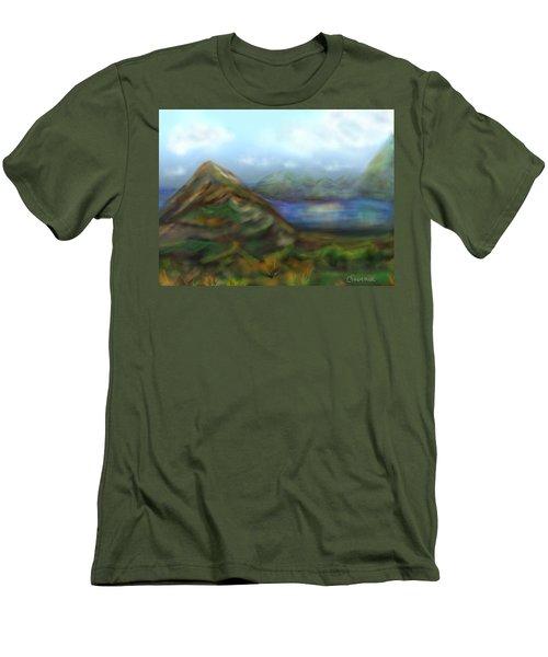 Kauai Men's T-Shirt (Slim Fit) by Christine Fournier