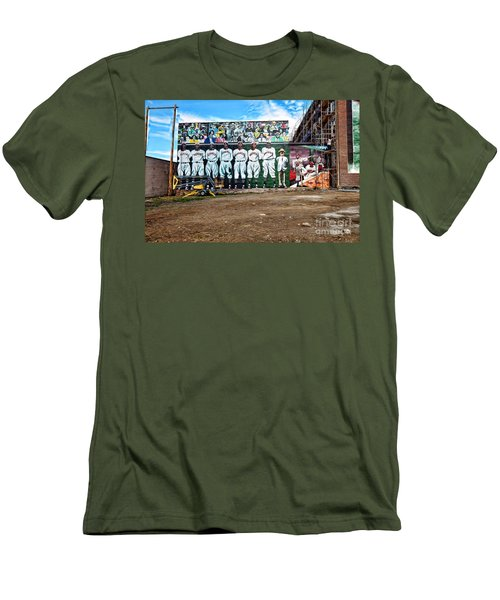 Kc Monarchs - Baseball Men's T-Shirt (Athletic Fit)