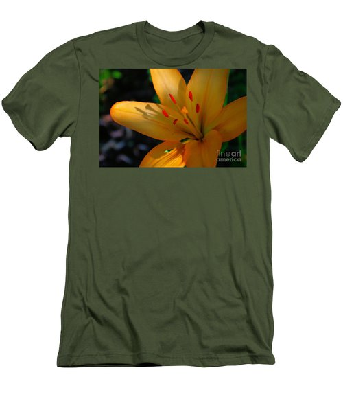Men's T-Shirt (Slim Fit) featuring the photograph Kenilworth Garden One by John S