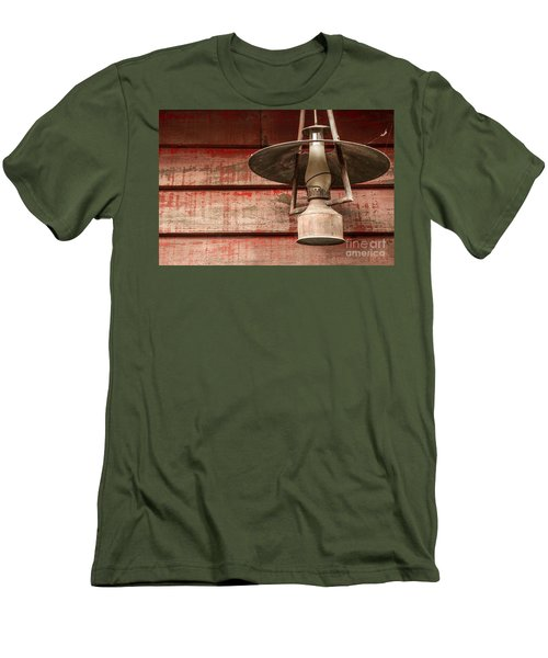 Kerosene Lantern Men's T-Shirt (Athletic Fit)