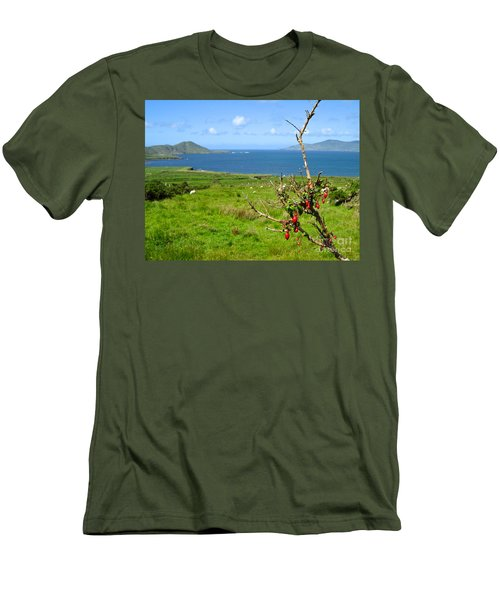 Men's T-Shirt (Slim Fit) featuring the photograph Kerry Me Away by Suzanne Oesterling