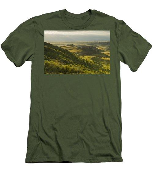 Killdeer Badlands In The East Block Of Men's T-Shirt (Athletic Fit)