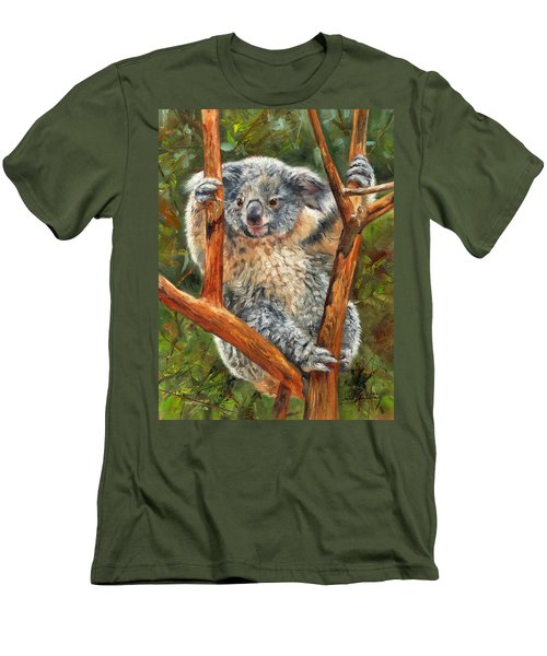 Koala Men's T-Shirt (Athletic Fit)