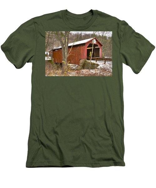 Krickbaum Bridge  Men's T-Shirt (Athletic Fit)