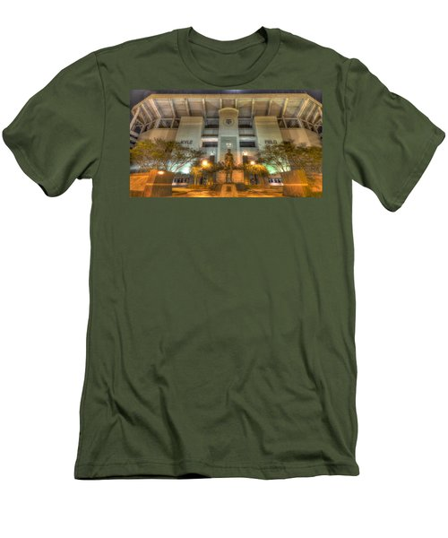 Kyle Field Men's T-Shirt (Slim Fit) by David Morefield