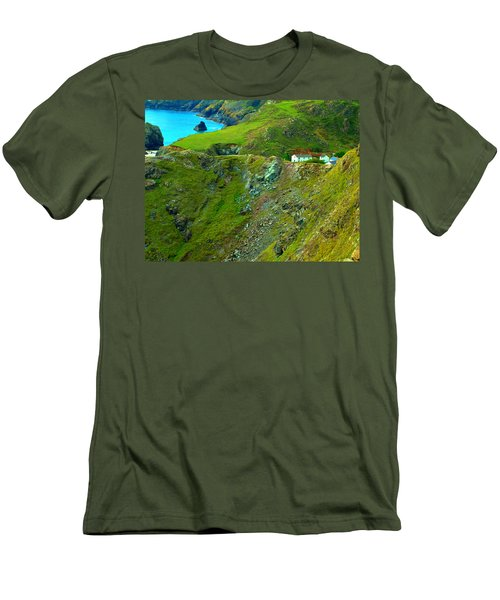 Kynance Cove Men's T-Shirt (Athletic Fit)