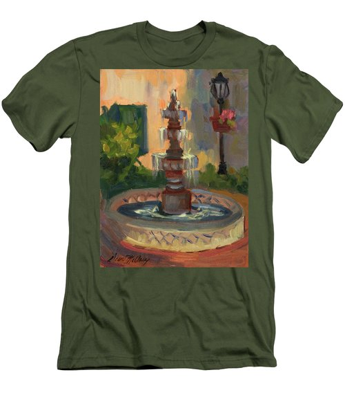 La Quinta Resort Fountain Men's T-Shirt (Athletic Fit)