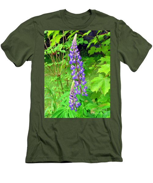 Lady Lupine Men's T-Shirt (Athletic Fit)