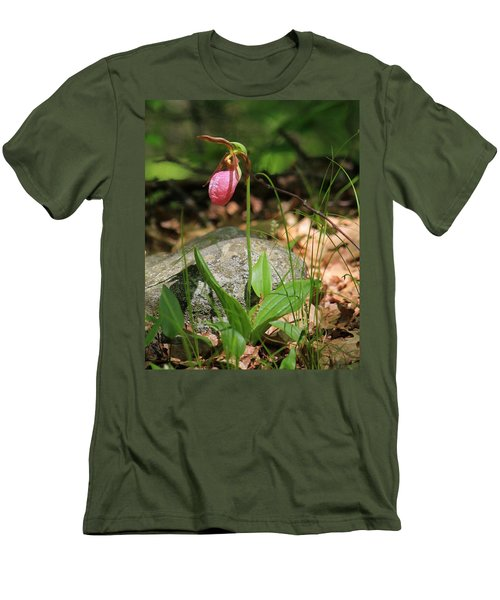 Lady Slippers At Moore State Park 3 Men's T-Shirt (Athletic Fit)