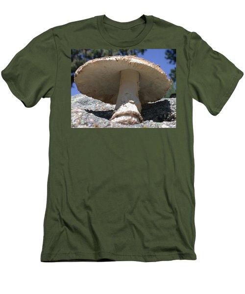Large Mushroom Men's T-Shirt (Athletic Fit)