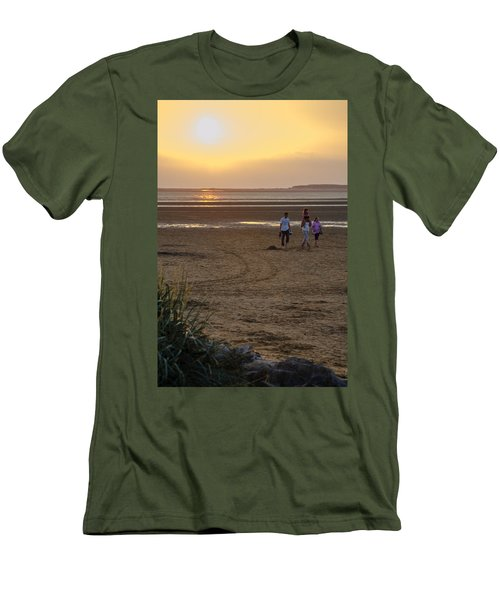 Last Colourful Days Of Summer Men's T-Shirt (Slim Fit) by Spikey Mouse Photography