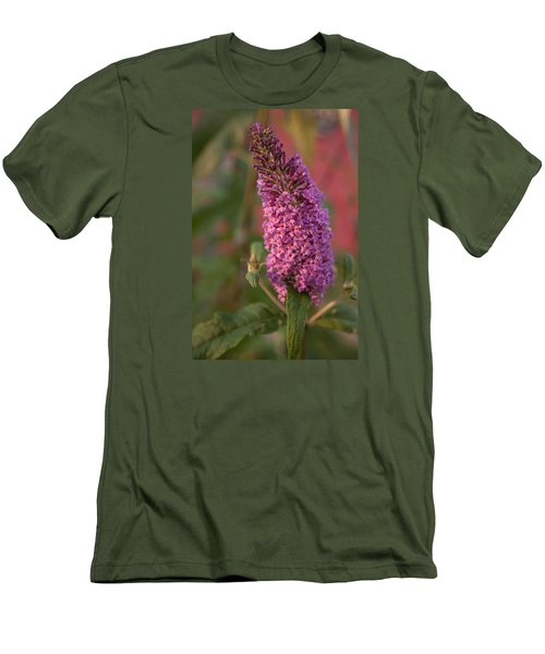 Late Summer Wildflowers Men's T-Shirt (Slim Fit) by Miguel Winterpacht