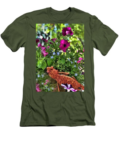 Leaping Lizards Men's T-Shirt (Athletic Fit)