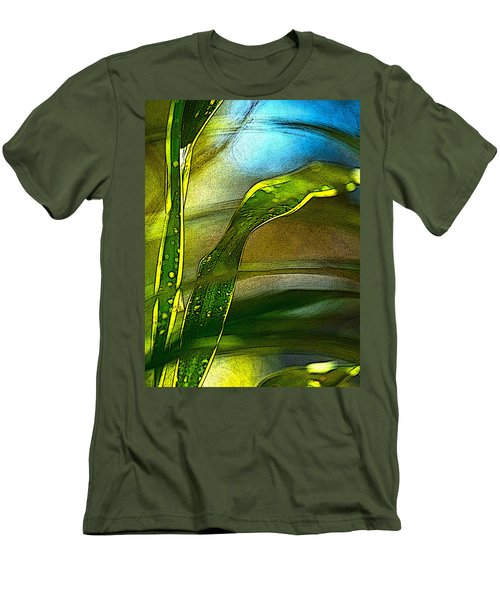 Leaves And Sky Men's T-Shirt (Athletic Fit)