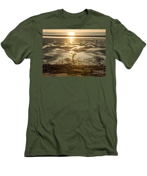 Leftover Bouquet Men's T-Shirt (Slim Fit) by Carol Lynn Coronios