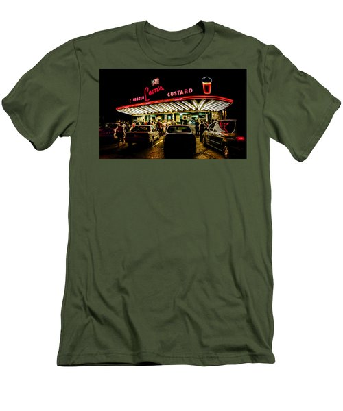 Leon's Frozen Custard Men's T-Shirt (Athletic Fit)