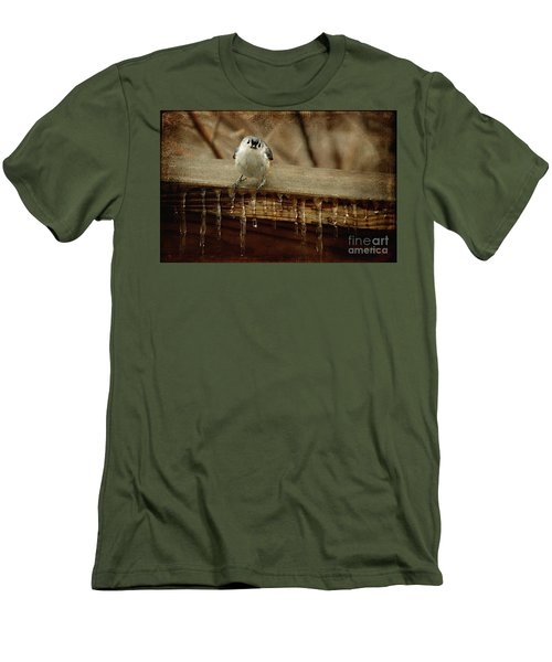 Life Can Be Tough Men's T-Shirt (Athletic Fit)