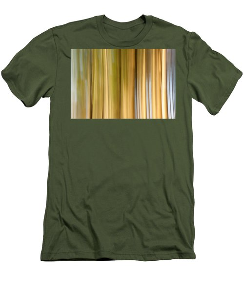 Men's T-Shirt (Slim Fit) featuring the photograph Light And Snow by Davorin Mance