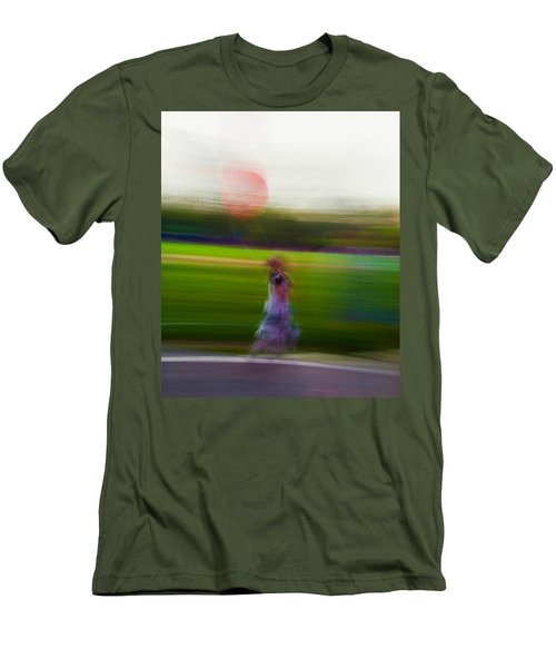 Men's T-Shirt (Slim Fit) featuring the photograph Lighter Than Air by Alex Lapidus