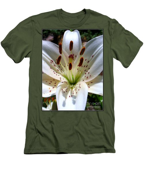 Lily Men's T-Shirt (Slim Fit) by Patti Whitten