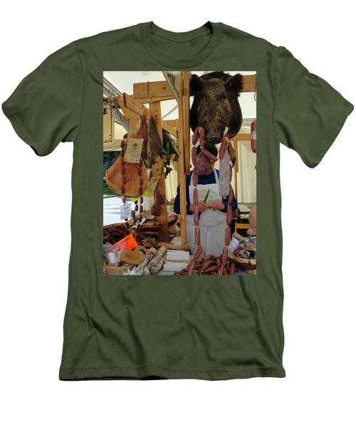 Men's T-Shirt (Slim Fit) featuring the photograph Links by Natalie Ortiz