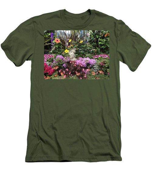 Little Cherub Men's T-Shirt (Slim Fit) by Pema Hou